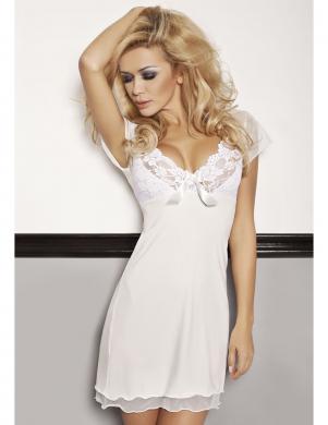 DKAREN baltas krāsas sieviešu naktskrekls
