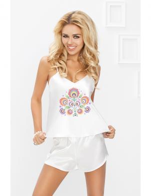 DKAREN baltas krāsas sieviešu pidžama