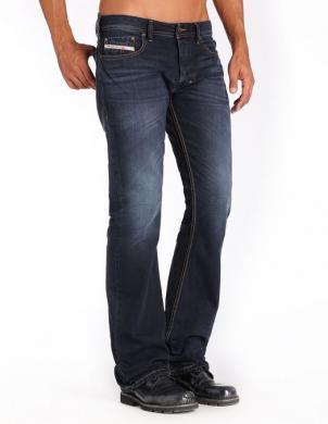 DIESEL zilas krāsas vīriešu džinsi