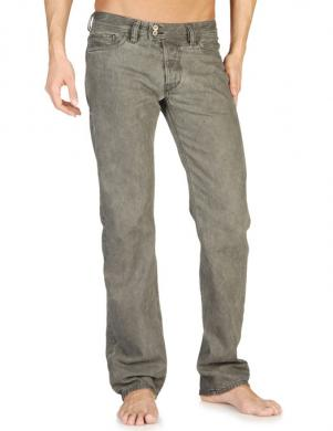 DIESEL vīriešu pelēkas krāsas džinsi