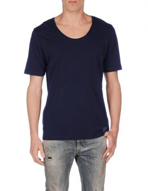 DIESEL tumši zilas krāsas kokvilnas vīriešu krekls