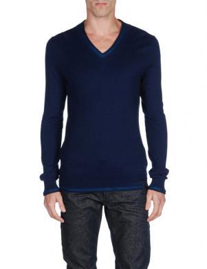 DIESEL tumši zilas krāsas stilīgs vīriešu džemperis K-TUCANO