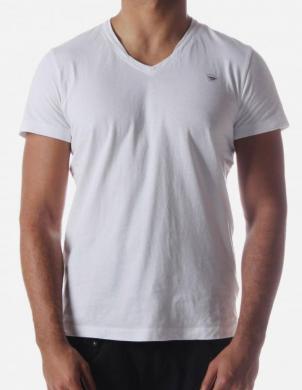 DIESEL vīriešu baltas krāsas kokvilnas krekls T-BRISKO MAGLIETTA