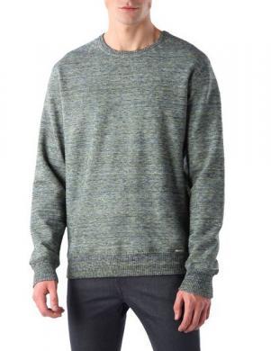 DIESEL vīriešu pelēks džemperis S-ATOKO