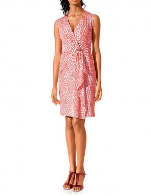 CLASS INTERNATIONAL koraļļu/ baltas krāsas sieviešu kleita