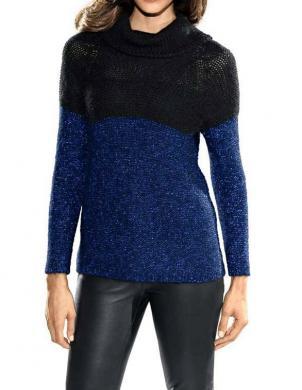 PATRIZIA DINI silts sieviešu džemperis ar augstu apkakli