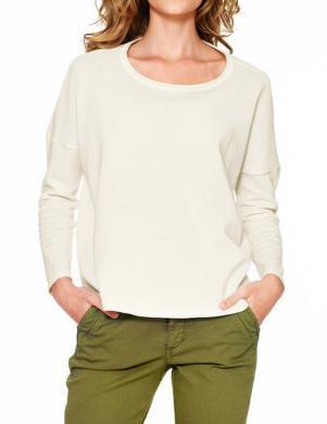 HEINE - BEST CONNECTIONS baltas krāsas sieviešu kokvilnas džemperis