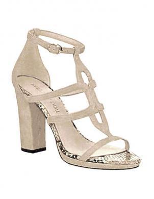 Krēmīgi sieviešu augstpapēžu apavi PATRIZIA DINI