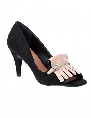 Melni sieviešu apavi ar sprādzi PATRIZIA DINI