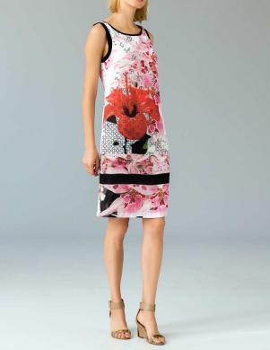APART puķaina sieviešu kleita bez piedurknēm