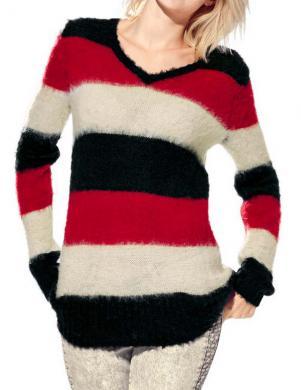 MANDARIN krāsains sieviešu džemperis