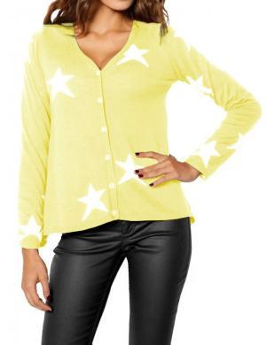 RICK CARDONA sieviešu dzeltenas krāsas džemperis
