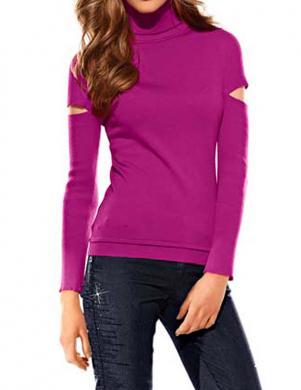MANDARIN skaists sieviešu džemperis ar augstu apkakli