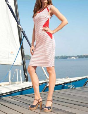 APART sieviešu vasaras kleita ar ieliktņiem sānos