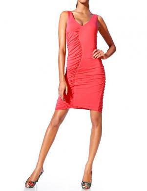 CLASS INTERNATIONAL koraļļu krāsas pieguļoša kleita.