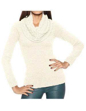 ASHLEY BROOKE krēmīgas krāsas skaists sieviešu džemperis