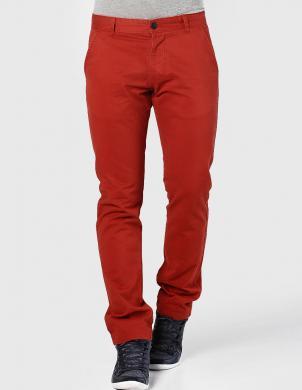 JACK&JONES sarkanas krāsas stilīgas kokvilnas vīriešu bikses BOLTON EDWARD BOSSA