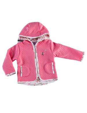 FLAMINGO TEXTILE bērnu rozā krāsas jaka ar rāvējslēdzēju