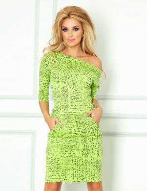 NUMOCO krāsaina ikdienas kleita