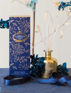 PORTUS CALE Festive Blue mājas aromāts ar nūjiņām 100 ml