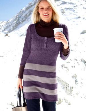 CHEER garš adīts džemperis