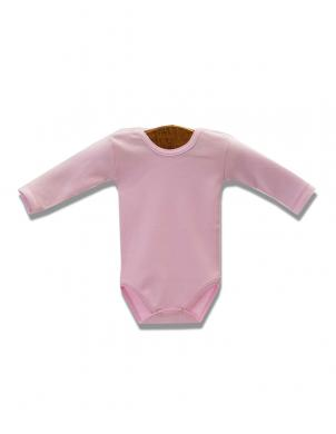 LAFEL rozā krāsas kokvilnas bodijs