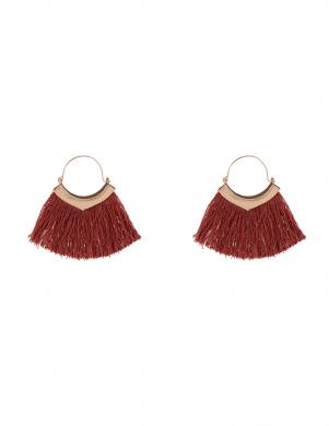 MADE FOR LOVING sieviešu rozā/zelta krāsas auskari