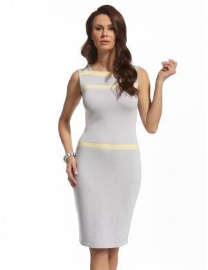 ENNY pelēka eleganta sieviešu kleita