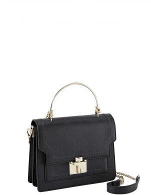 Maza melna soma ar dekoratīvu izšuvumu HEINE