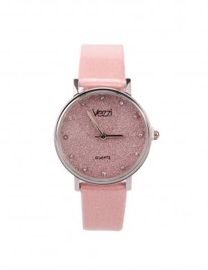 Sieviešu rozā krāsas pulkstenis