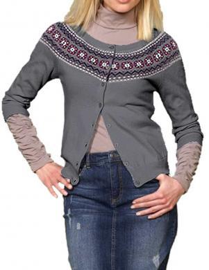 APART pelēks džemperis