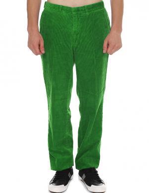 GANT zaļas vīriešu velveta bikses