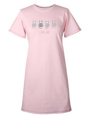 MUZZY rozā sieviešu naktskrekls