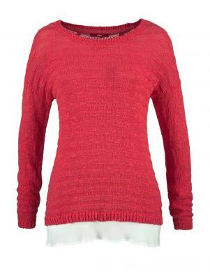 S. OLIVER sarkanas krāsas skaists sieviešu džemperis