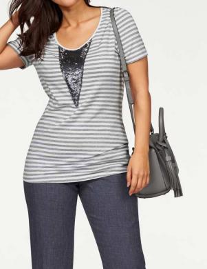 Brīva laika stilīgs pelēks krekls APART