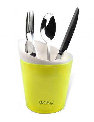 VIALLI DESIGN virtuves priekšmetu žāvētājs zaļā krāsā LIVIO