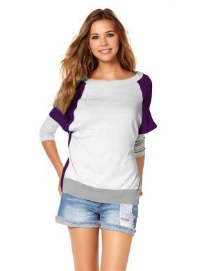 AJC sieviešu skaists ar īsām piedurknēm džemperis