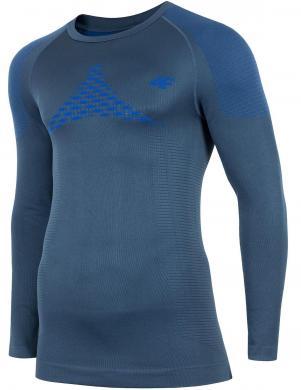 Tumši zils vīriešu termo krekls BIMB003G 4F