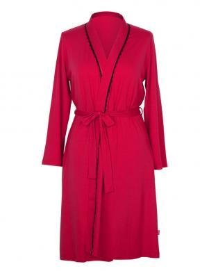 MUZZY sarkana sieviešu viskozes halāts