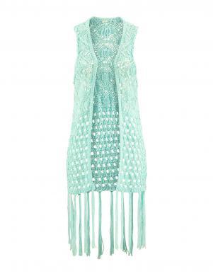 S. OLIVER piparmētru krāsas stilīga sieviešu veste