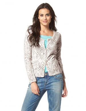 TOM TAILOR sieviešu krēmīgas krāsas džemperis