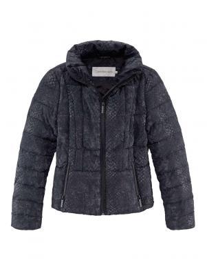 CALVIN KLEIN JEANS melnas krāsas skaista sieviešu jaka