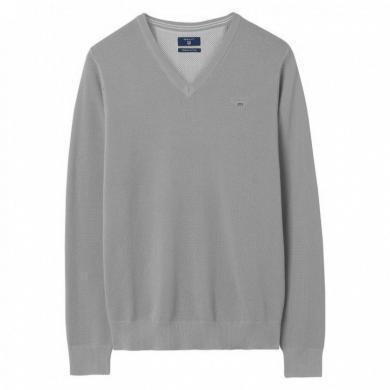 Pelēks vīriešu džemperis GANT
