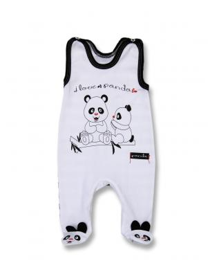 LAFEL baltas krāsas rāpulīši Panda