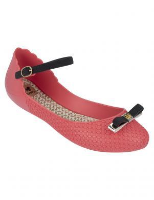 ZAXY sieviešu rozā brīva laika vasaras apavi ar banti