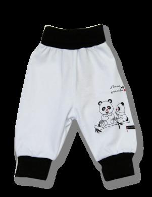 LAFEL kokvilnas mazuļu bikses Panda