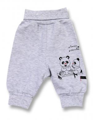 LAFEL kokvilnas bikses Panda