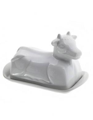FOOD FOR FUN porcelāna sviesta trauks COW BIG