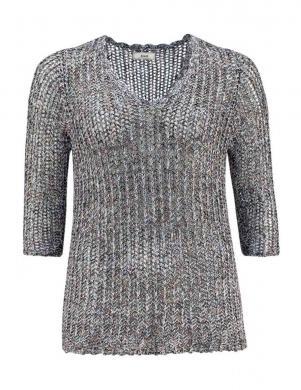 ZIZZI sieviešu skaists pelēkas krāsas džemperis