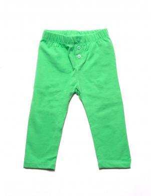 BABY GAP zaļi bērnu legingi